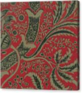 Wallpaper Sample With Bamboo Pattern By William Morris Canvas Print