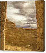 Walls Of Time Canvas Print