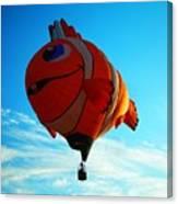 Wally The Clownfish Canvas Print