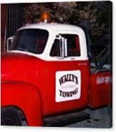 Wallys Service Truck Canvas Print