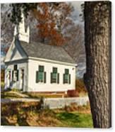 Walnut Grove Baptist Church1 Canvas Print