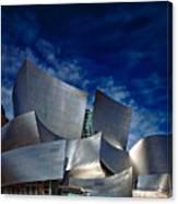 Walt Disney Concert Hall Canvas Print