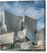 Walt Disney Concert Hall La Ca 7r2_dsc3465_17-01-17 Canvas Print