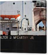 Walter J. Mccarthy Jr. Closeup 112917 Canvas Print