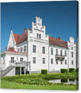Wanas Castle Front Canvas Print