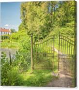Wanas Castle Secret Gate Canvas Print
