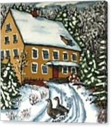 Wandering Geese Canvas Print