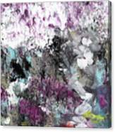 Wanderlust- Abstract Art By Linda Woods Canvas Print