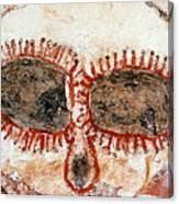 Wandjina Face Canvas Print