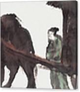 Wang Zhaojun Canvas Print