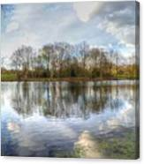 Wanstead Park Reflections Canvas Print