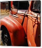 Want To Drive My Truck Canvas Print