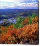 Wantatisquet Mountain Foliage Canvas Print