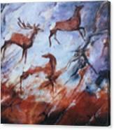 Wapiti- Petroglyph Canvas Print