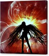 War Angel Canvas Print