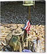 War Dogs Sacrifice Canvas Print