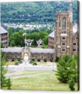 War Memorial Lyon Hall Cornell University Ithaca New York 01 Canvas Print