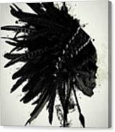 Warbonnet Skull Canvas Print