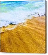 Warm Sand Canvas Print