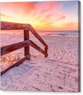 Warm Sunrise Canvas Print
