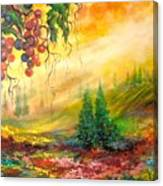 Warm View Canvas Print