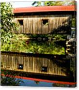 Warner Covered Bridge Canvas Print