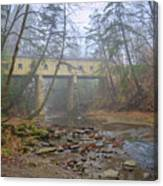 Warner Hollow Rd Covered Bridge Canvas Print