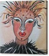 Warrior Woman  #3 Canvas Print