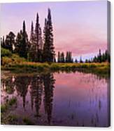 Wasatch Back Canvas Print