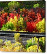 Wasatch Fall Canvas Print