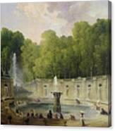 Washerwomen In A Park Canvas Print