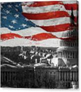 Washington Dc 56t Canvas Print