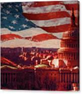 Washington Dc Building 76h Canvas Print