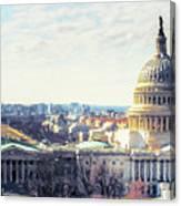 Washington Dc Building 9i8 Canvas Print