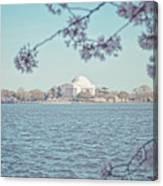 Washington Dc In Spring Canvas Print