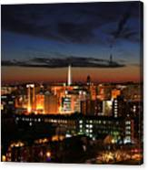 Washington Monument Night Sky Canvas Print