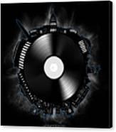 Washington Dc Skyline Vinyl 10 Canvas Print