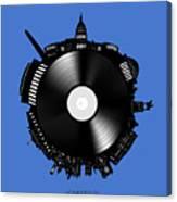 Washington Dc Skyline Vinyl 9 Canvas Print