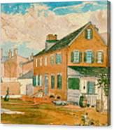 Washington D.c. Square 1874 Canvas Print