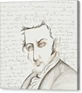 Washington Irving Canvas Print