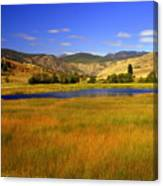 Washington Landscape Canvas Print