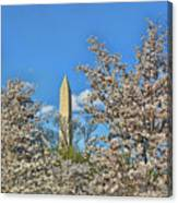 Washington Monument # 11 Canvas Print