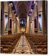 Washington National Cathedral Interior Canvas Print