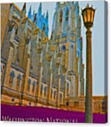 Washington National Cathedral Travel Canvas Print