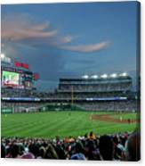 Washington Nationals In Our Nations Capitol Canvas Print