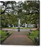 Washington Park, Charleston, Sc Canvas Print