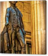 Washington Statue - Federal Hall #2 Canvas Print