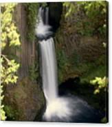 Washington Waterfall Canvas Print