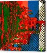 Wastefield-detail Canvas Print