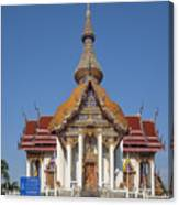 Wat Chaimongkron Phra Wihan Dthcb0088 Canvas Print